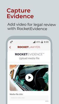 Rocket Lawyer captura de pantalla 12