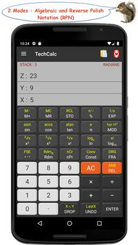 TechCalc screenshot 1