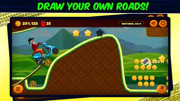 Road Draw 2: Moto Race تصوير الشاشة 13