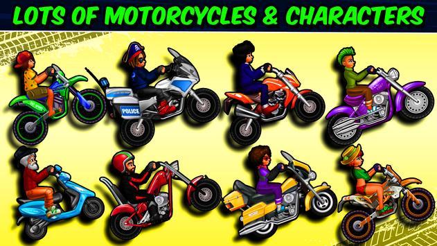 Road Draw 2: Moto Race تصوير الشاشة 1