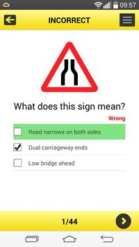 Road Traffic Signs UK screenshot 2