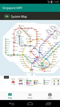 Singapore MRT and LRT FREE poster