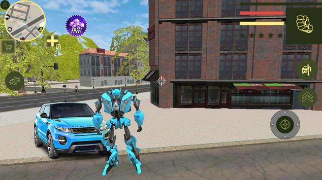 Super Car Robot Transforme Futuristic Supercar screenshot 3