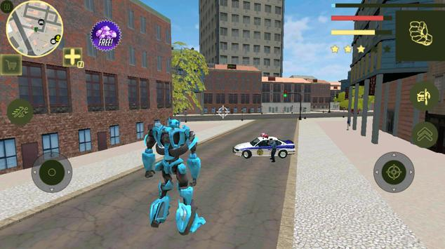 Super Car Robot Transforme Futuristic Supercar screenshot 1