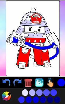 Robot coloring book screenshot 6