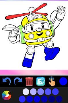Robot coloring book screenshot 7