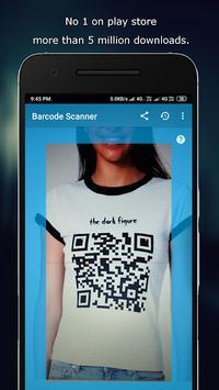barcode scanner reader screenshot 1