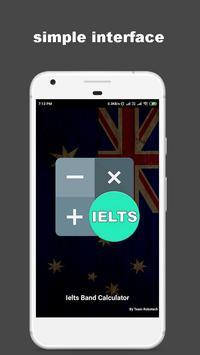 IELTS Band Score Calculator poster