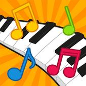 Niños Juegos de Piano icono