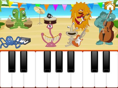 Niños Juegos de Piano captura de pantalla 6