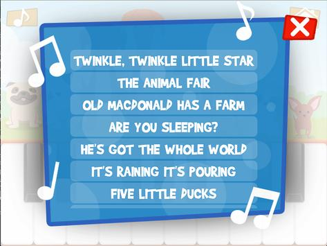 Niños Juegos de Piano captura de pantalla 8