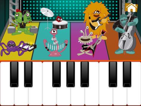 Niños Juegos de Piano captura de pantalla 10