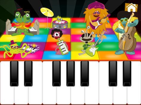 Niños Juegos de Piano captura de pantalla 1