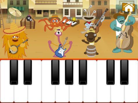 Niños Juegos de Piano captura de pantalla 2