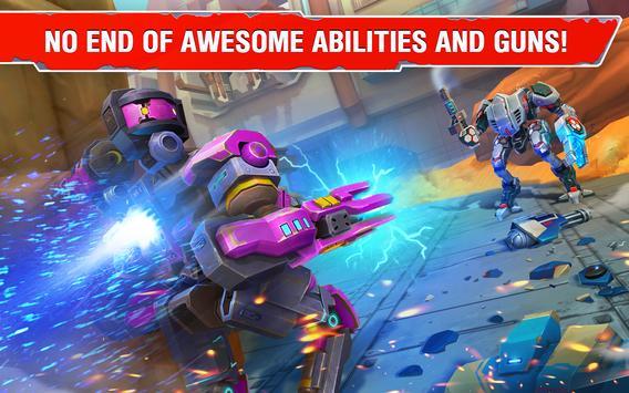 Star Robots. Fun Multiplayer TPS Shooter تصوير الشاشة 10