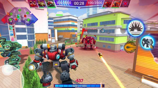 Star Robots. Fun Multiplayer TPS Shooter تصوير الشاشة 11