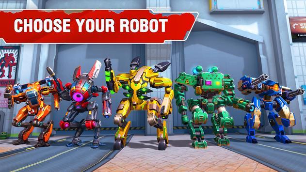 Star Robots. Fun Multiplayer TPS Shooter تصوير الشاشة 1