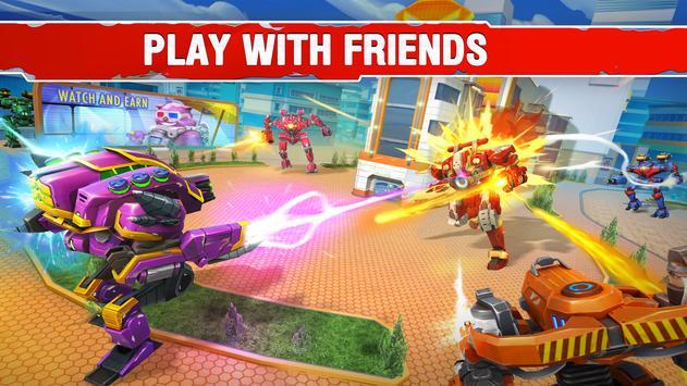 Star Robots. Fun Multiplayer TPS Shooter تصوير الشاشة 2
