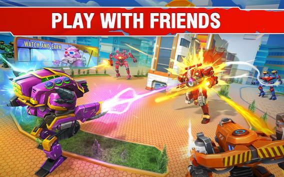 Star Robots. Fun Multiplayer TPS Shooter تصوير الشاشة 8