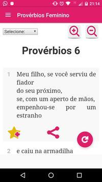 Provérbios Bíblicos Feminino screenshot 1