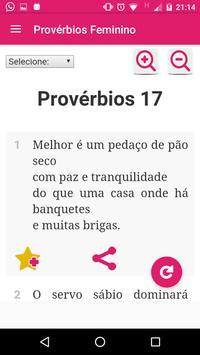 Provérbios Bíblicos Feminino screenshot 3