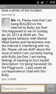 BullyProofAssistant:anti-bully screenshot 5