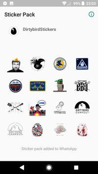 WAStickerApps Dirtybird Stickers screenshot 1