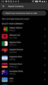 All Currency Converter Pro captura de pantalla 6