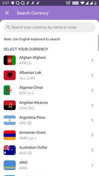 All Currency Converter Pro captura de pantalla 2