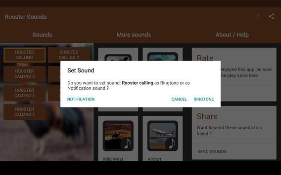 Rooster Sounds screenshot 7