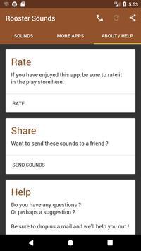 Rooster Sounds screenshot 2