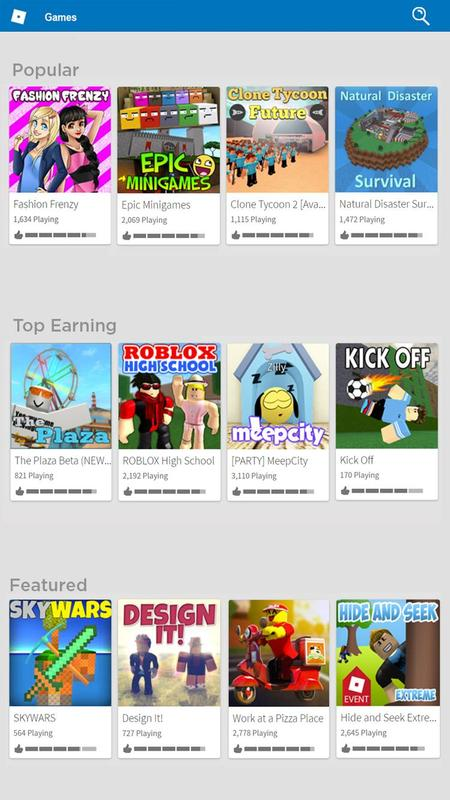 Roblox For Android Apk Download