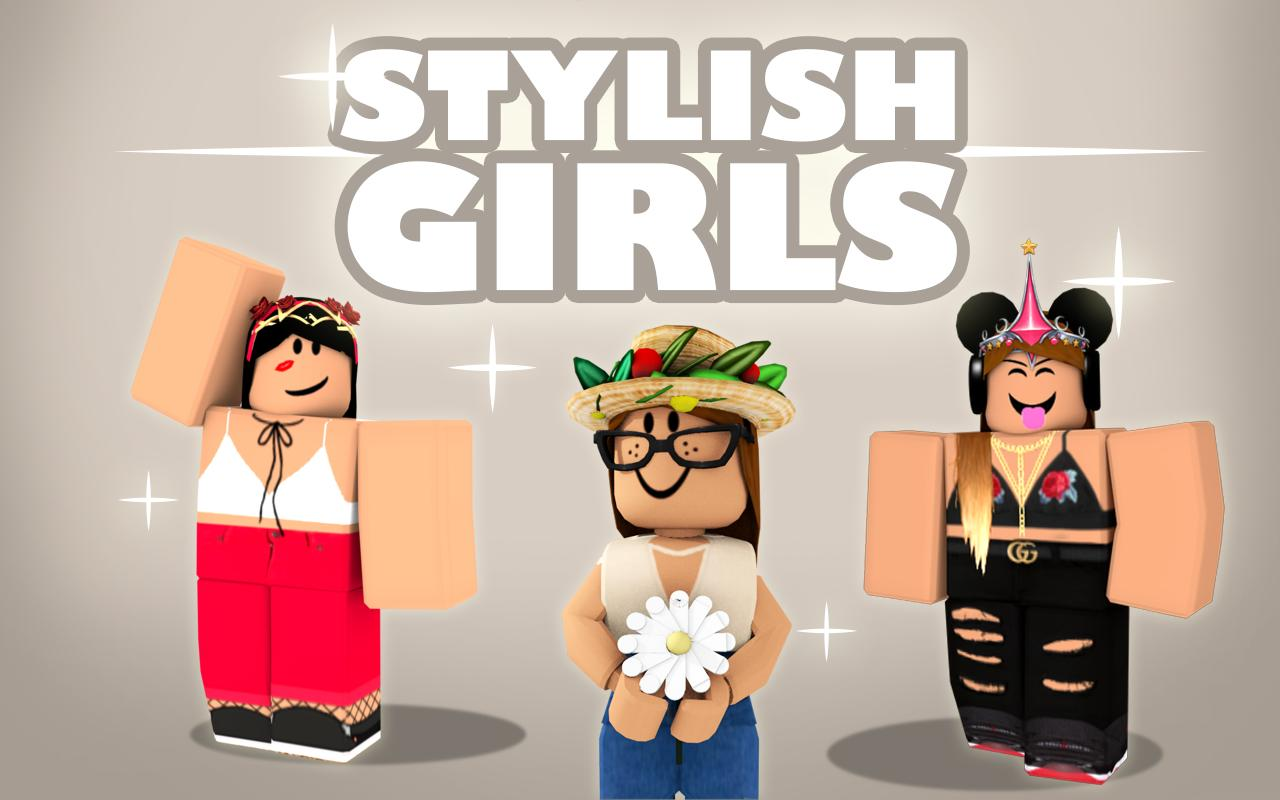 Roblox Outfits Girl Free Girls Skins For Roblox For Android Apk Download