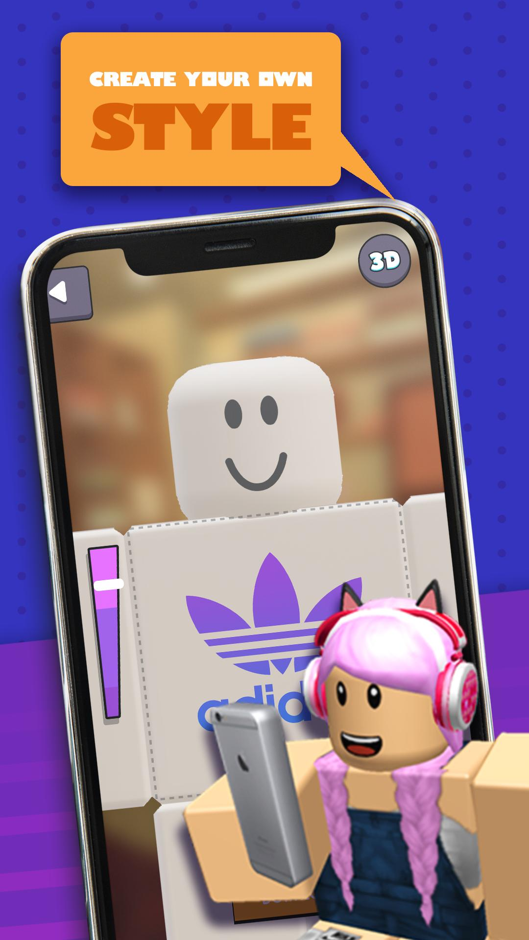 Skin Editor 3d For Roblox For Android Apk Download