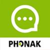 Phonak myCall-to-Text phone transcription ikona