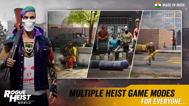 MPL Rogue Heist - India's 1st Shooter Game الملصق