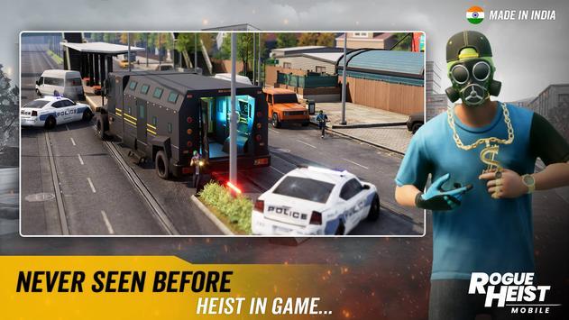 MPL Rogue Heist - India's 1st Shooter Game تصوير الشاشة 1