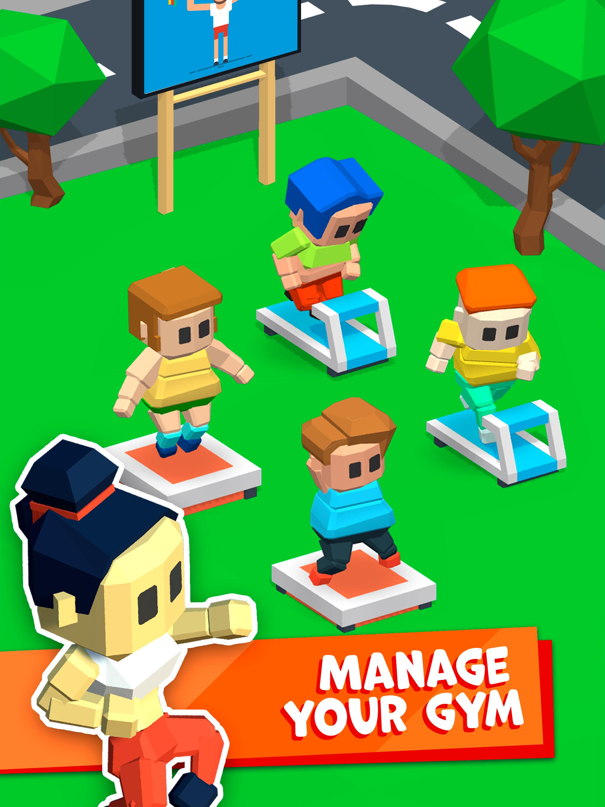 idle fitness gym tycoon 破解 版