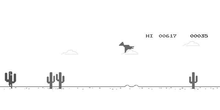 8BIT Retro Cactus Jump 🌵 screenshot 1