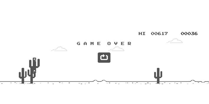 8BIT Retro Cactus Jump 🌵 screenshot 2