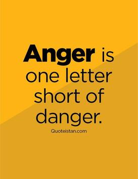 Anger Management Quotes poster