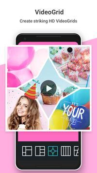 Photo Grid : 相片組合編輯、Instagram比例、影片拼貼、清新可愛臉部貼圖 海報