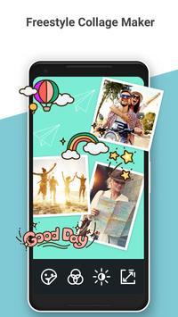Photo Grid : 相片組合編輯、Instagram比例、影片拼貼、清新可愛臉部貼圖 截圖 3