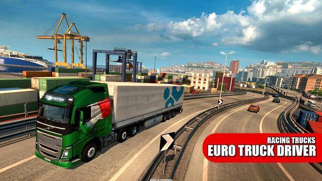 Truck Driver: Euro City Drive Simulator 2019 poster