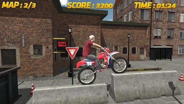 Bike Race 3D: conluio imagem de tela 3