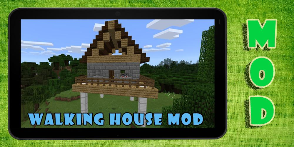 Walking House Mod For Android Apk Download