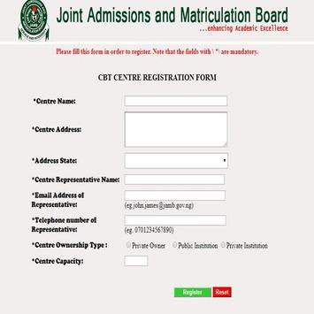 joint admissions matriculation board Mobile App screenshot 5