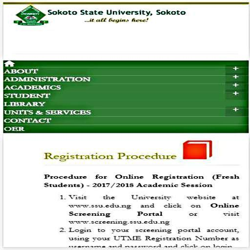 Sokoto State University Mobile Access App for Android - APK Download