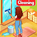 Big Home Cleanup and Wash : House Cleaning Game