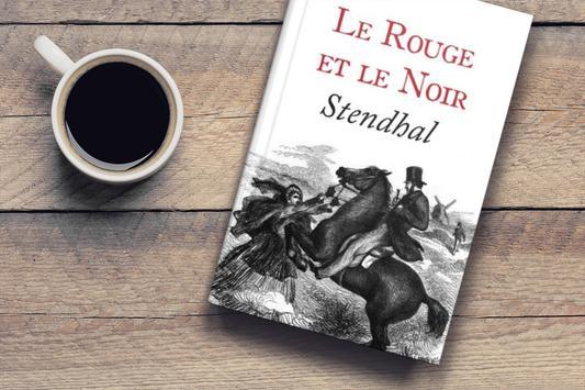 LE ROUGE ET LE NOIR poster